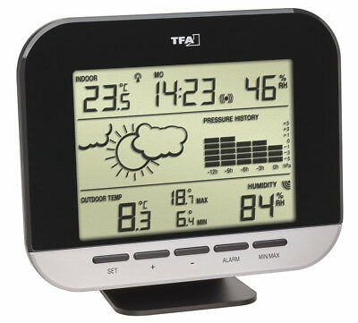 Funk-Wetterstation Connect Tfa 35.1143.01 Wetterstationen Thermometer Hygrometer