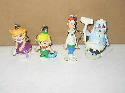 1990 Applause  The Jetsons  Lot of 4 PVC Figures Keychains