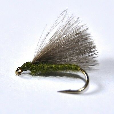 ADAMS STRAIGHT Dry Fly Trout /& Grayling fly Fishing flies by Dragonflies