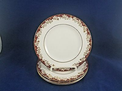 """Royal Doulton WINTHROP - Bread & Butter Plate 6 1/2"""" Set of 4"""