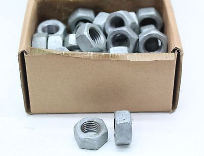 New 50 x M16 Hexagonal Hot Dip Galvanized Steel Nuts - Free Delivery