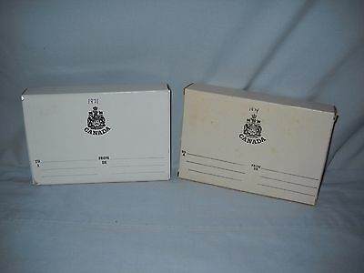 1971 &1974 Royal Canadian Mint Proof Sets NEVER OPENED/SEALED