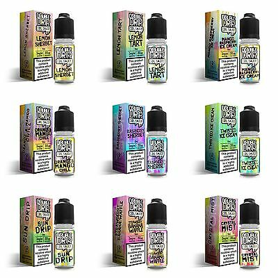 Original Double Drip 3Mg Eliquid Ecig Juice E Liquid Sub Ohm Vape 10Ml/20Ml/30Ml