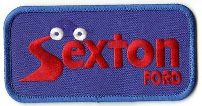 "Sexton FORD Dealer Mechanic Employee 4"" Patch Sew or Iron On"