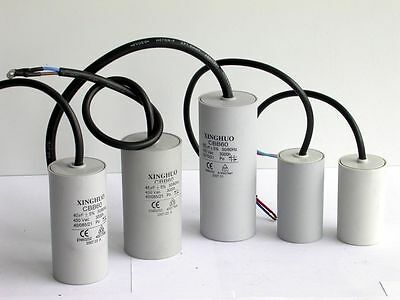 Electric Motor 450v Run Capacitor