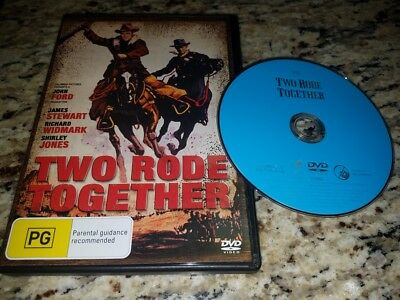 Two Rode Together (1961) ( 2 Rode Together ) [ NON-USA FORMAT, PAL, Reg.2.4 Impo