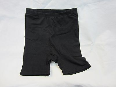 Mens Black Cotton Dance Shorts