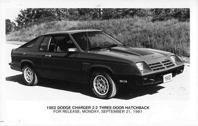 1982 Dodge Canada Charger 2.2 Hatchback ORIGINAL Factory Photo oub6454