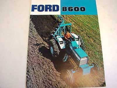Ford 8600 Farm Tractor Brochure