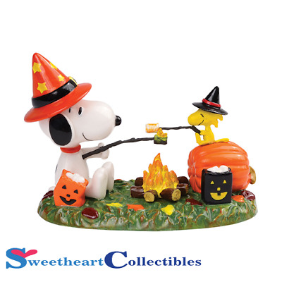 Department 56 Peanuts Halloween Roasting and Toasting 4032661 Retired