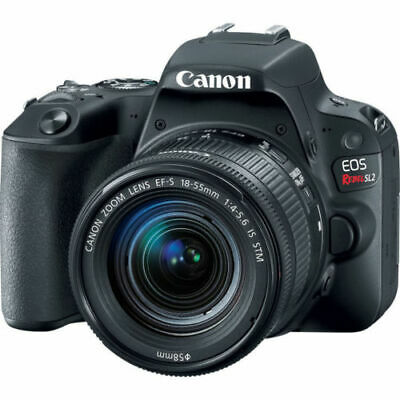 Canon EOS Rebel SL2 DSLR Camera with 18-55mm Lens (Black) 2249C002