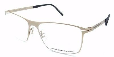 6bed9283eec Porsche Design Rx Eyeglasses Frames P8256 B 55x16 Matte Gold Made in Italy