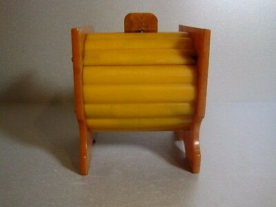 Art Deco Butterscotch Catalin Phenolic Bakelite Box