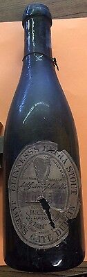 "Guinness's Extra Stout ""Ship Brand"" Early Bottle with Daukes & Co. London Label"