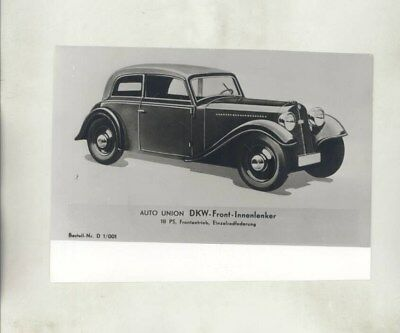 1934 ? DKW Front ORIGINAL Factory Photograph wy3407