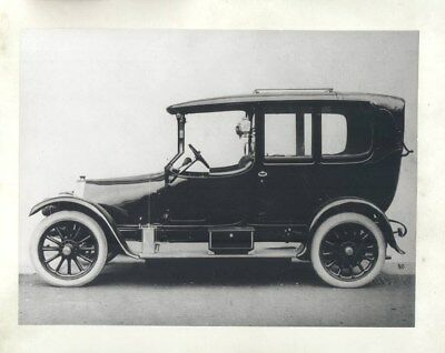 1910 Fiat 4 ORIGINAL Factory Photograph wy3489