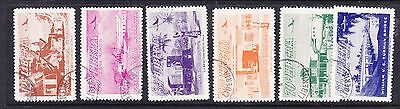 Liberia 1953 Airmails  set.- Used