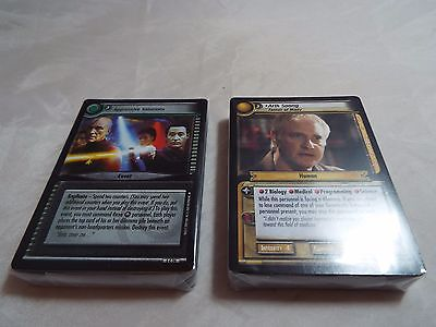 Star Trek Ccg 2E To Boldly Go Complete Common And Uncommon Set