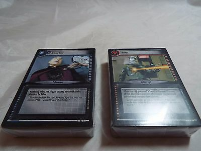 Star Trek Ccg 2E Call To Arms Complete Common And Uncommon Set