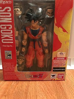 2015 SDCC Exclusive Bluefin S.H. Figuarts Dragon Ball Son Goku Frieza Saga Ver