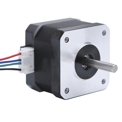 Nema 17 Stepper Motor Bipolar 40mm 43oz.in/30Ncm 1.3A 4 Lead for 3D Printer CNC