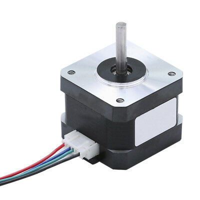 Bipolar Stepper Motor Nema 17 34mm 43oz.in(30Ncm) 1.3A 4 Lead for 3D Printer CNC