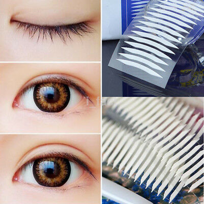 120 PAIRS INVISIBLE Lace Fiber Double Eyelid Narrow Tape Stickers