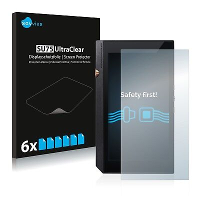 6x Savvies Screen Protector for Pioneer XDP-300R Ultra Clear