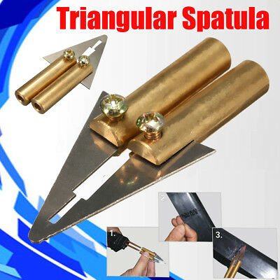 Gun Head Spatula For Hot Stapler Car Bumper Fender Fairing Welder Plastic Repair