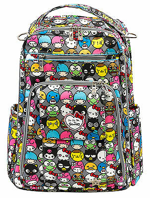Ju Ju Be Sanrio Be Right Back Hello Friends Backpack Baby Diaper Bag NEW