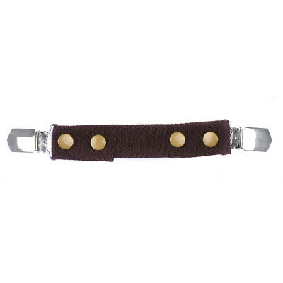 Crummy Bunny Toddler Adjustable Brown Belt with Clips