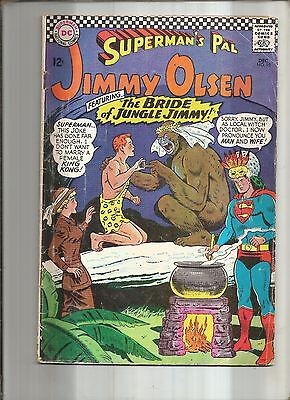 Jimmy Olsen #98  Superman's Pal   Tempus  Dc  Silver Age 1966