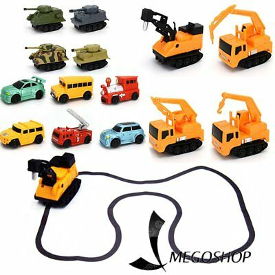 Great Follow Any Drawn Line Magic Pen Inductive Toy Car Truck Model W/ Pen GiBE
