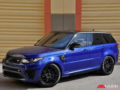 2016 Land Rover Range Rover Sport SVR Low Miles Stunning Color Combo Rover Range Rover Sport SVR low  Miles Trades Welcome!