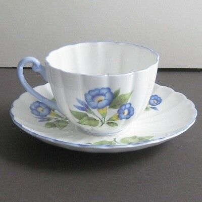 * Shelley China, Morning Glory cup and saucer