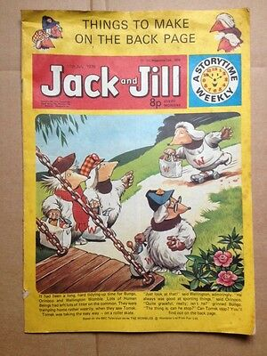 Jack and Jill Comic - 17th July 1976