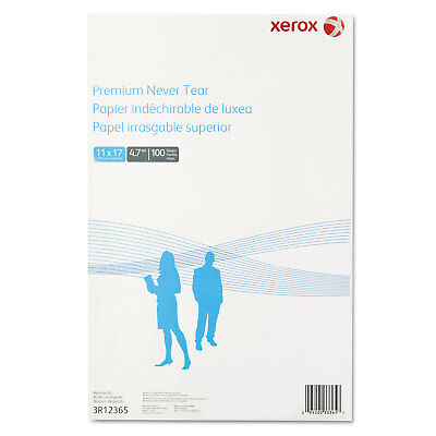 Xerox Revolution Premium Never Tear Paper 11 x 17 4.7 mil White 100 Sheets/Pack