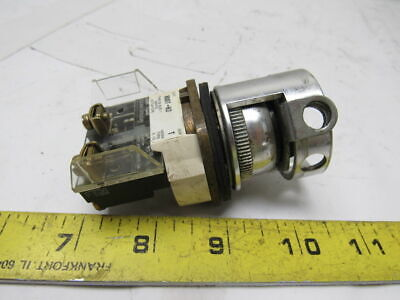 Allen Bradley 800T-H2 Ser. T Electric Rotary 2 Position Selector Switch W/Lock