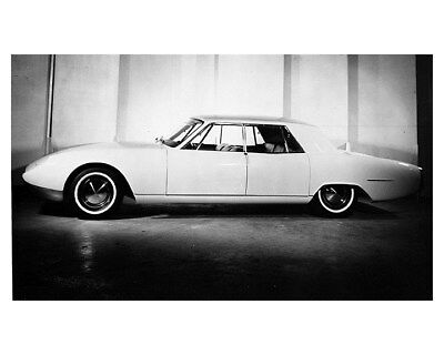 1962 Kaiser Isreal Darrin Sedan Prototype Factory Photo ca8663