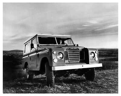 1971 Land Rover Series III Factory Photo ca8715