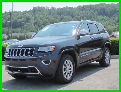 2015 Jeep Grand Cherokee Limited 2015 Limited Used Turbo 3L V6 24V Automatic 4WD SUV Premium