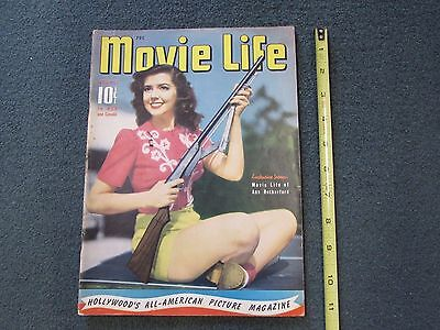 1941 MOVIE LIFE Magazine, Ann Rutherford cover + , & many more
