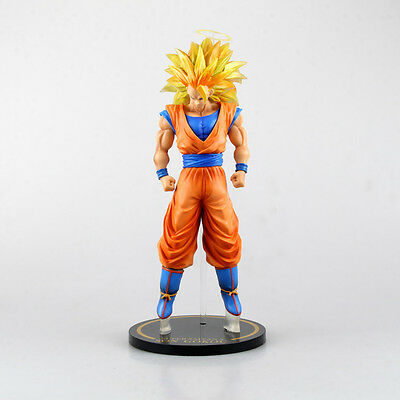 "Dragon Ball Z Japanese Anime Super Saiyan 3: Son Gokou 11"" Statue Toy Figure NEW"