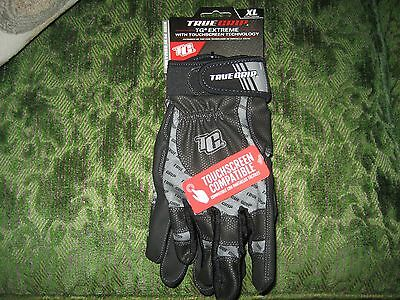 True Grip XL X-Large Gloves TG Extreme with Touchscreen Technology 9898