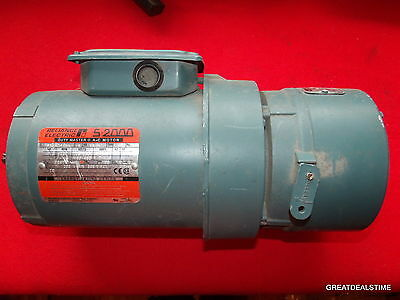 Reliance S-2000 Duty Master P56H7213N-Xu 3/4 Hp Ac Motor With Dodge Brake #tools