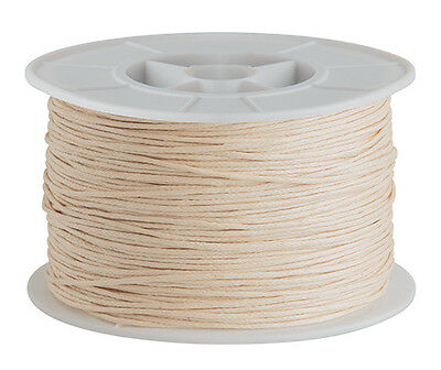 100mt Natural - 1mm cotton cord DIY necklace jewellery string beading crafting