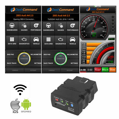 ELM327 WiFi Bluetooth OBD2 OBDII Car Diagnostic Scanner For iPhone Android ms