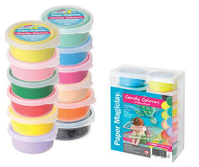 Coloured Magic Clay it is a lightweight, soft and elastic fun modelling compound