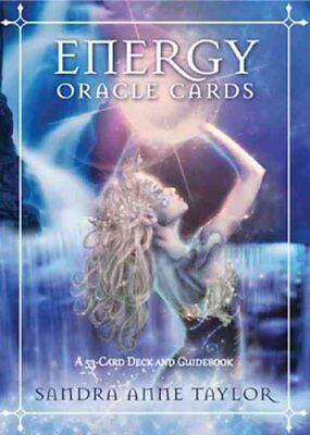 Energy Oracle Cards by Sandra Anne Taylor 9781401940447 (Cards, 2013)