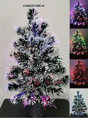 45Cm Fibre Optic Christmas Xmas Tree Colour Changing Battery / Usb Cable Sn-027